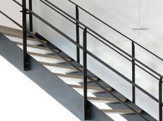 Xillix roestvrijstaal - design trappen