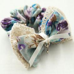 $5.81 Stylish Lace Bowknot Pattern Printed Fabric Elastic Hairband For Women
