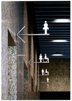#bls #blssign&print #blssignenprint #sign #print #wayfinding #bewegwijzering #toilet #gang