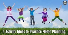 Here are 5 activity ideas to practice motor planning skills: Ninja Clothes Pin Clip Activity – find the matching Ninja, move your body lik. Motor Skills Activities, Gross Motor Skills, Free Activities, Sensory Activities, Motor Planning, Pediatric Occupational Therapy, Running Club, Executive Functioning, Move Your Body