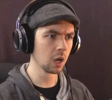 When you leave the volume all the way up and turn on a Jacksepticeye video...