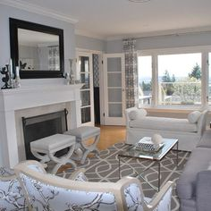 Transitional Living Room Design, Pictures, Remodel, Decor and Ideas - page 4