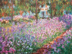 Jardin De Giverny - Claude Monet - print from allposters.com: click here