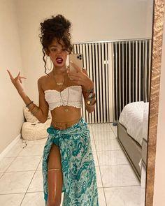 Fashion 90s, Black Girl Fashion, Look Fashion, Fashion Outfits, Earthy Outfits, Cute Casual Outfits, Summer Outfits, Hippie Outfits, Girl Outfits