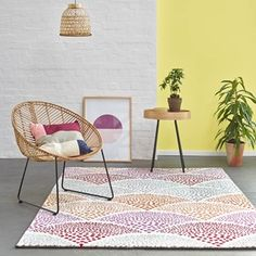 Hy Multi Coloured Rugs 3252 110 By Esprit Free Uk Delivery The Rug