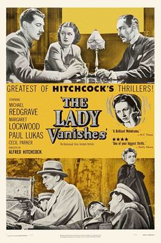 Hitchcock's The Lady Vanishes