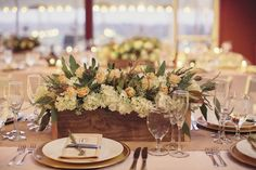 Connecticut Wedding from Clean Plate Pictures + Sixpence For Your Shoe Flower Table Decorations, Fruit Centerpieces, Fall Wedding Decorations, Rustic Wedding Centerpieces, Centerpiece Ideas, Wedding Motifs, Clean Plates, Elegant Table, Simple Weddings