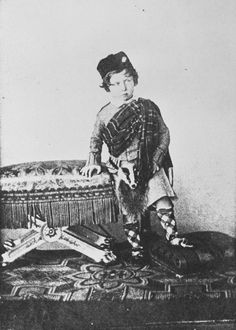 Prince Alfred at Windsor, aged 4
