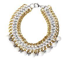SS 2012 Snowwhite necklace by Norwegian jewellery brand Goldmine