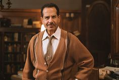 Tony Shalhoub Had to Learn a New Skill for 'Marvelous Mrs. Old Man Clothes, Tony Shalhoub, Rachel Brosnahan, Learn A New Skill, Comedy Tv, Gilmore Girls, Prime Video, New Series, The Man