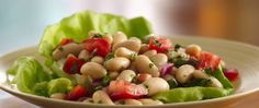 Cannellini beans are large white kidney beans originally from South America.  The Italians have adopted them and, not surprisingly, they're now a delicious part of Italian cuisine.