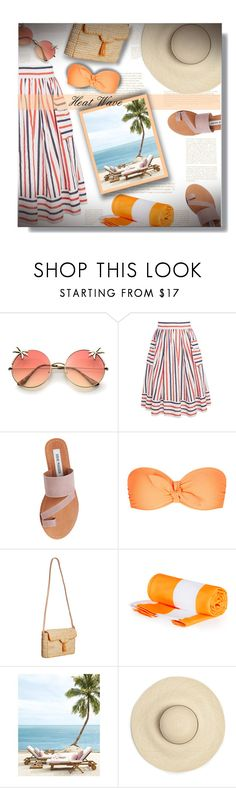 """""""Heat Wave - Contest!"""" by sarahguo ❤ liked on Polyvore featuring Steve Madden, Heidi Klein, Laurence Heller and PearlsandLace"""
