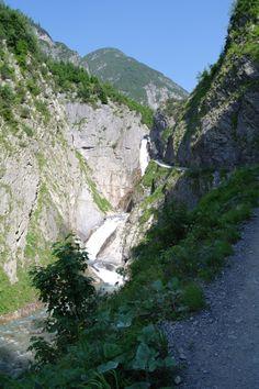 Simms wasserfall Holzgau Austria