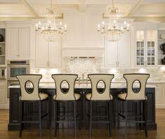 I love this kitchen!! I want it! Traditional U-shaped kitchen, white cabinets, Mel Bean, Austin Bean Design Studio, Other