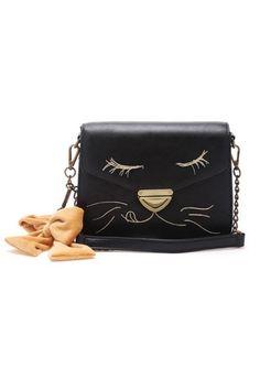 OasapVintage Cat Design Shoulder Bag