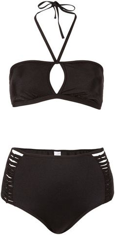 Got this high waisted bikini from Topshop for 70% off! Love rainy season sales!
