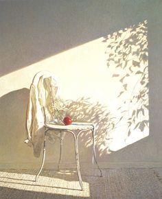 Colin Fraser, Secret Shadows - egg tempera on panel, Gallery ID# Art Inspo, Painting Inspiration, Guache, Still Life Art, Art Design, Beautiful Paintings, Watercolor Paintings, Art Drawings, Illustration Art