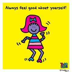 Always Feel Good About Yourself Dance  Limited by ToddParrArt, $45.00