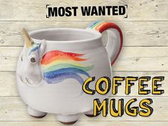 An undeniably brutal winter (so far) means more time at home. Which means more downtime drinking out of your favorite mug. Update yours for a genuine jolt: