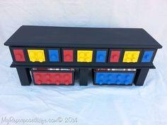 Creative Ideas - DIY Easy Lego Table for Kids