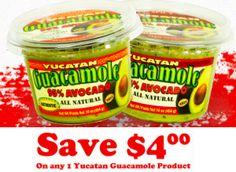 FREE Yucatan Guacamole at Walmart