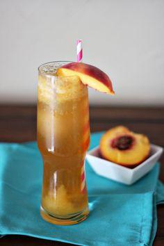 Peaches and Cream Drink Recipe