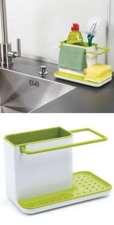 Sink Caddy and Organizer - Park It | Functional design | Pinterest ...