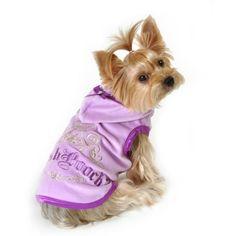 Simplydog, Purple Posh Pooch Hoodie, Mul