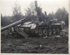 Broken M107