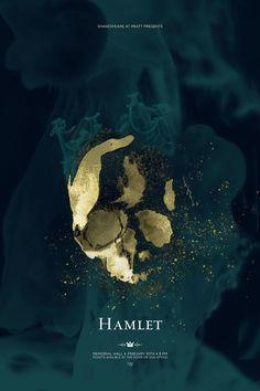 Shakespeare at Pratt by Michael Riso, via Behance