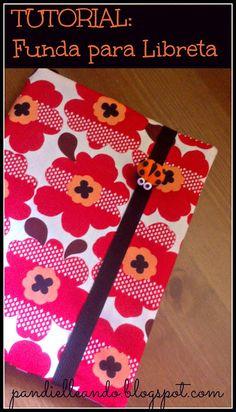 Imagine Gnats Tutorial: Jersey Infinity Scarf - traducción al español Diy Notebook, Notebook Covers, Journal Covers, Sewing Tutorials, Sewing Crafts, Sewing Projects, Sewing For Kids, Free Sewing, Diy Agenda