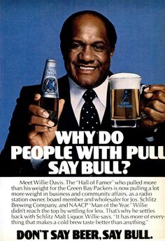 Schlitz Malt Liquor ad, Jet, August 21, 1980