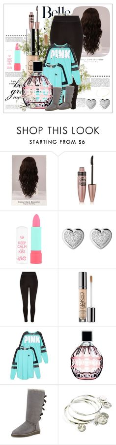 """""""School Outfits"""" by schooloutfits101 on Polyvore featuring WigYouUp, Maybelline, Rimmel, Links of London, River Island, Urban Decay, Victoria's Secret, Jimmy Choo, UGG Australia and Vera Bradley"""