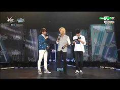 150423 INFINITE (인피니트) Woohyun (우현), L (엘) MC Cut3 @ Mnet 엠카KCON EngSub - YouTube