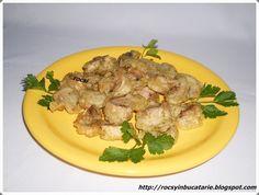 Reteta culinara Ciuperci pane de post din categoria Retete de post. Cu specific romanesc.. Cum sa faci Ciuperci pane de post Asparagus, Potato Salad, Food And Drink, Pastel, Meat, Chicken, Vegetables, Cooking, Ethnic Recipes