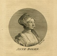 Antique Print-PORTRAIT-ANNE BOLEYN-QUEEN-ENGLAND-Grignion-1757-1758 | eBay