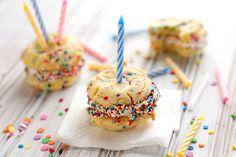 Birthday cake cookies.