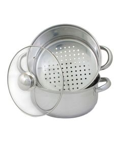 Look what I found on #zulily! 3-Qt. All-in-One Stainless Steel Steamer & Sauce Pot #zulilyfinds