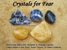 Gemstones for fear