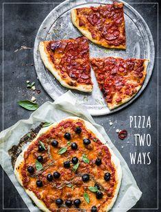 Pizza Napoli Pizza Napoli, Pepperoni, Vegetable Pizza, Vegetables, Food, Easy Meals, Rezepte, Veggie Food, Vegetable Recipes