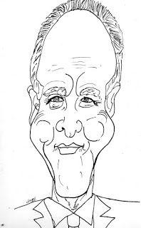 CARICATURAS DELBOY: JOHN LITHGOW