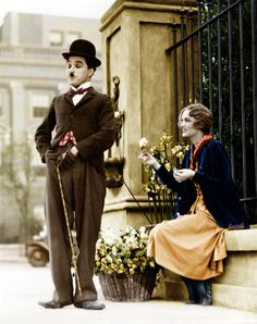 charlie chaplin color - Google Search