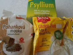 Bezlepkový kváskový chlieb s orechmi (fotorecept) - recept | Varecha.sk Bread Mix, Snack Recipes, Snacks, Chips, Gluten Free, Food, Basket, Snack Mix Recipes, Glutenfree