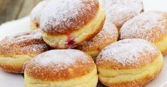 Beignets au four maison - Appetizer Recipes Donut Recipes, Cake Recipes, Dessert Recipes, Cooking Recipes, Desserts With Biscuits, Homemade Donuts, Food Tags, No Sugar Foods, Sweet Recipes