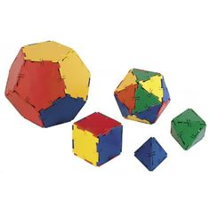Polydron Platonic Solids
