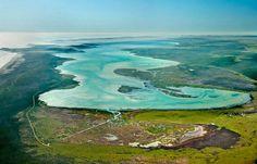 Langebaan Lagoon Natural Reserve in Western Cape (South Africa)