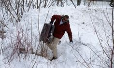 Migrants are fleeing the US for Canada, making the journey through snow and ice to seek refugee status in the country