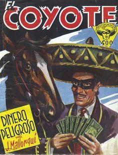 Dinero peligroso. Ed. Cliper, 1948. (Col. El Coyote ; 68)
