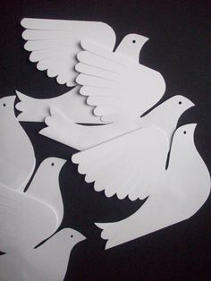 Vintage Clear Acrylic Doves Pigeons Kissing with Floating Heart Holiday Ornament