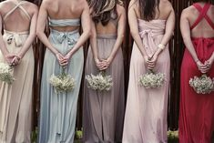 Keep it fresh and keep it interesting with these totally awesome bridesmaid looks.